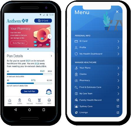 Anthem Health apps